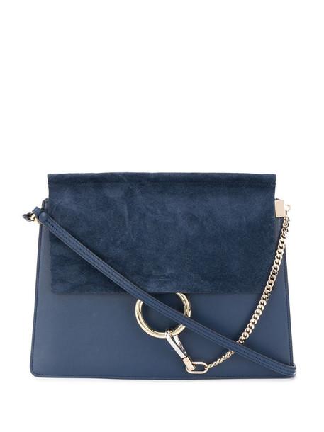 Chloé Faye shoulder bag in blue
