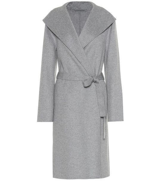 Joseph Lima double-face cashmere coat in grey