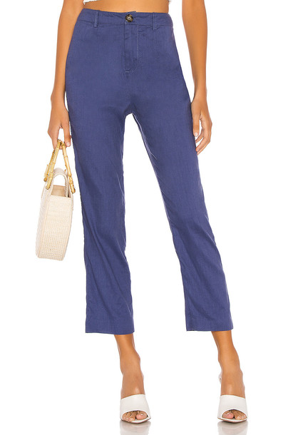 L'Academie The Charley Pant in blue