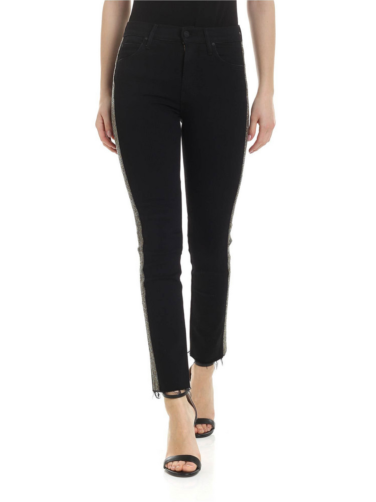 Mother - The Rascal Ankle Fray Jeans in black