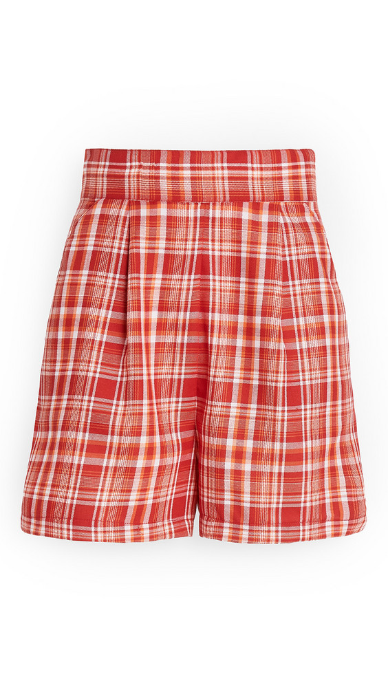 The Fifth Label Mindless Shorts in red