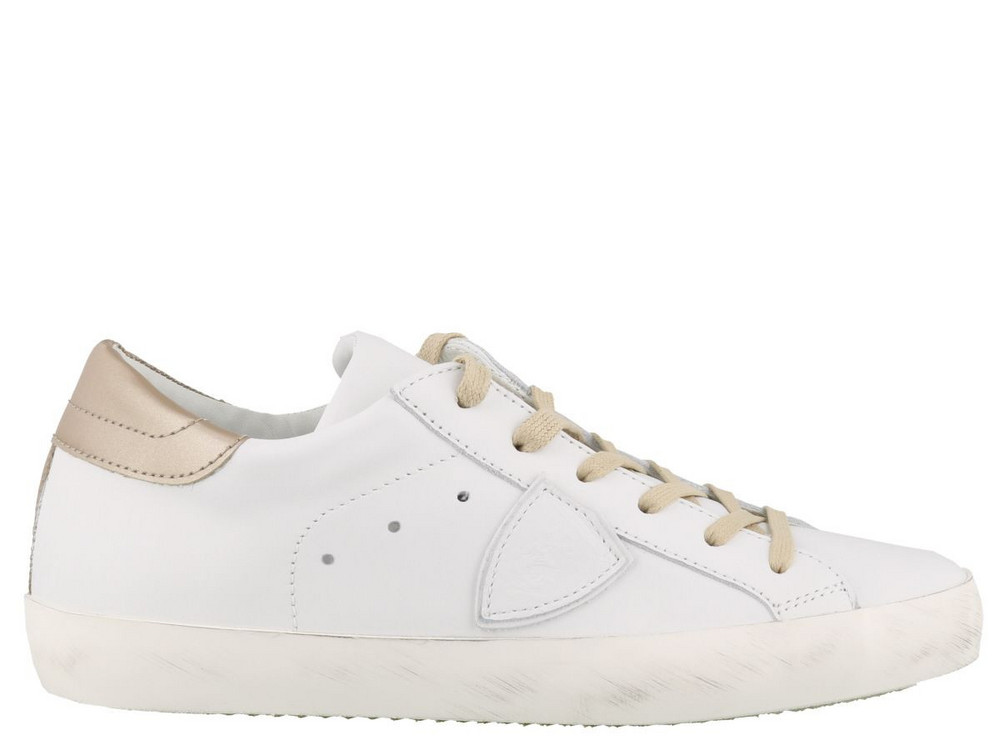 Philippe Model Paris Sneakers in gold / white