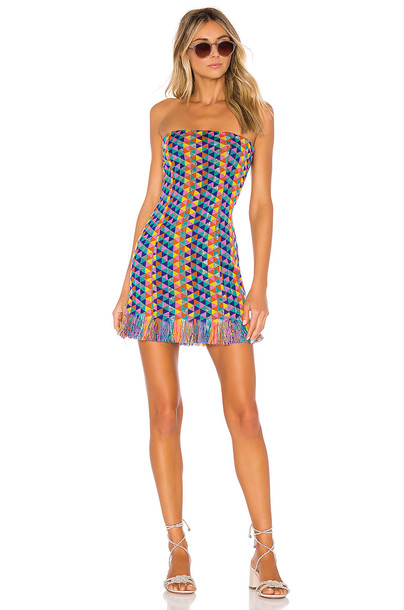 House of Harlow 1960 X REVOLVE Amelia Dress in blue