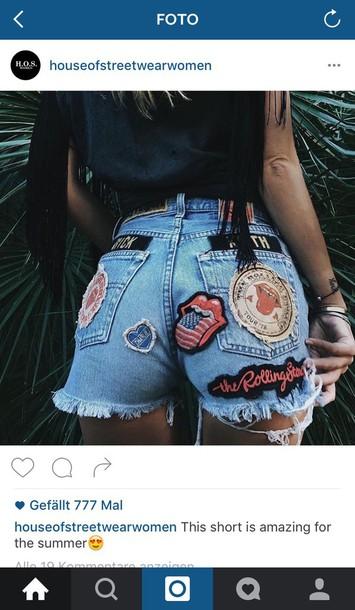 jeans shorts tumblr