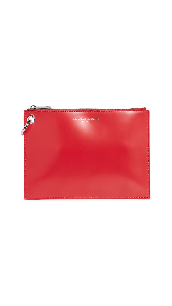 Brandon Blackwood Raina Pouch in red