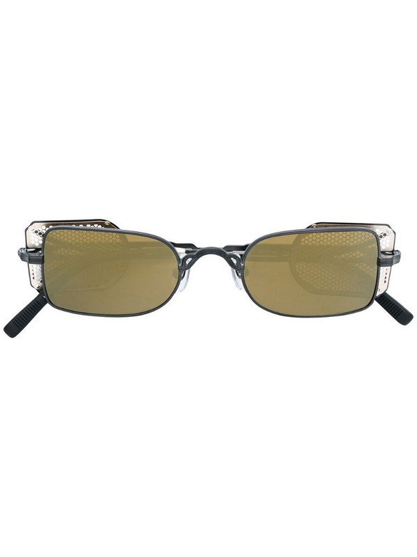 Matsuda rectangular-frame sunglasses in black