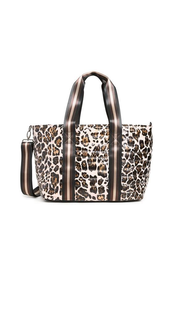 Think Royln Wingman Bag in rose / leopard