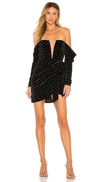 Michael Costello x REVOLVE London Mini Dress in Black