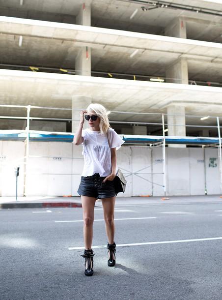 always judging t-shirt shorts sunglasses shoes bag