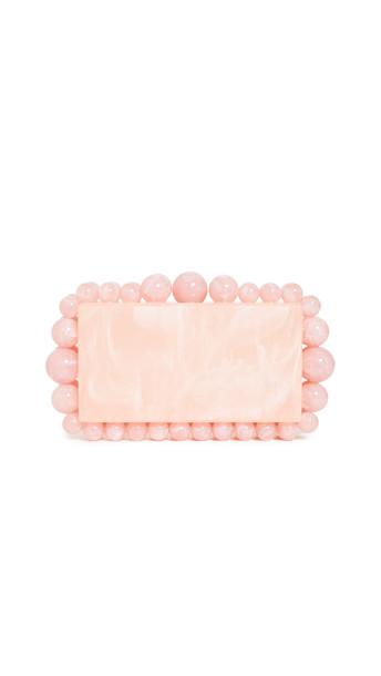 Cult Gaia Eos Box Clutch in pink