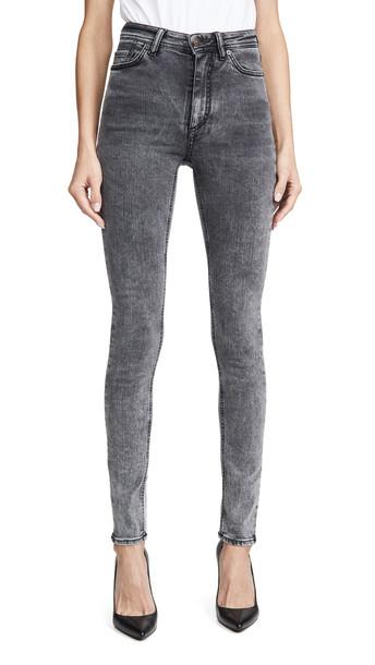 Acne Studios Peg Jeans in black