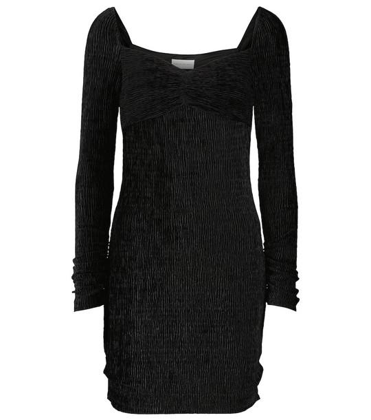 Rebecca Vallance Senna long-sleeved minidress in black