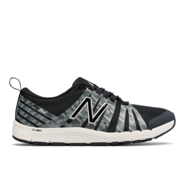 New Balance 811 Print Trainer Women's Recently Reduced Shoes - Black/Grey (WX811FC)