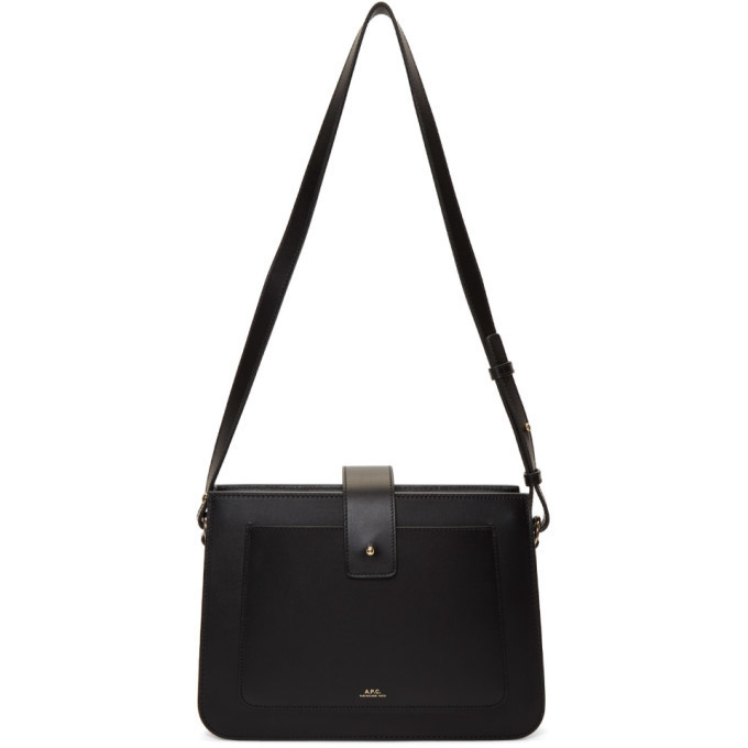 A.P.C. A.P.C. Black Albane Bag