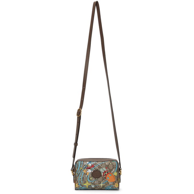 Gucci Multicolor Disney Edition Mini GG Donald Duck Rocket Bag in multi / beige