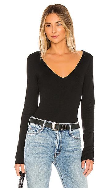 Privacy Please Addison Sweater in Black