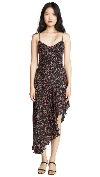Nicholas Blocked Slip Dress in multi