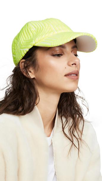 Eugenia Kim Lo Hat in yellow