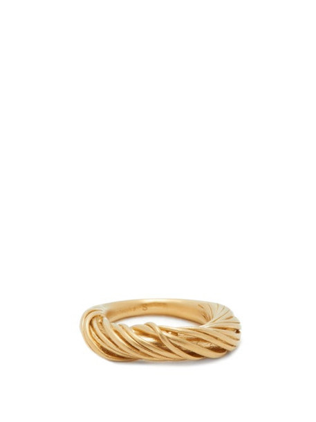 Completedworks - Wrapped 14kt Gold-vermeil Ring - Womens - Yellow Gold
