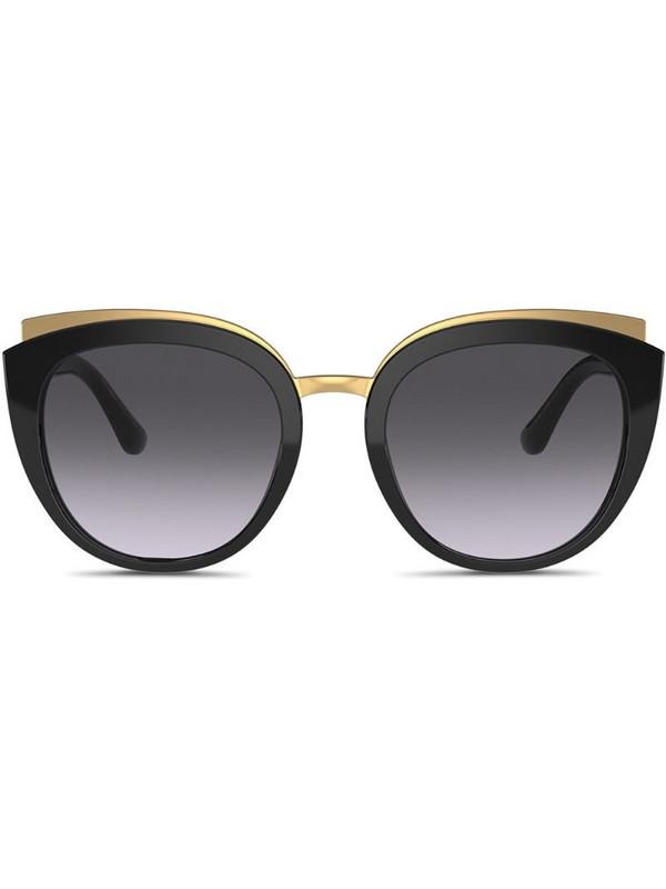 Dolce & Gabbana Eyewear Family cat-eye frame sunglasses in black