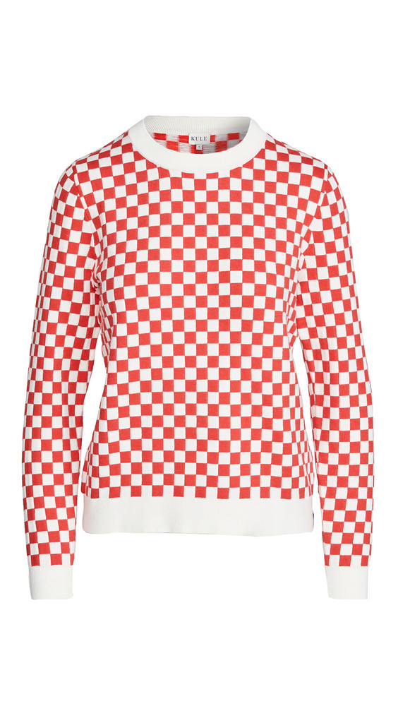 KULE Check Mate Pullover in multi
