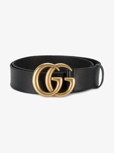 Gucci 'Double G' belt in black