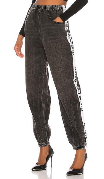 DENIM x ALEXANDER WANG Track Pant in grey