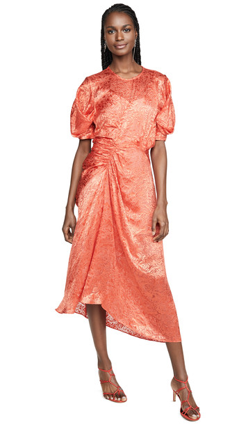 Preen By Thornton Bregazzi Lally Dress in tomato