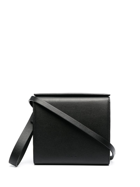 Aesther Ekme Pouch leather clutch bag in black