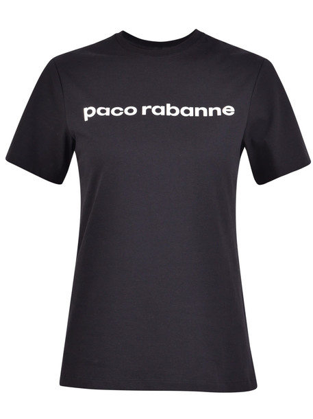 Paco Rabanne Branded T-shirt in black