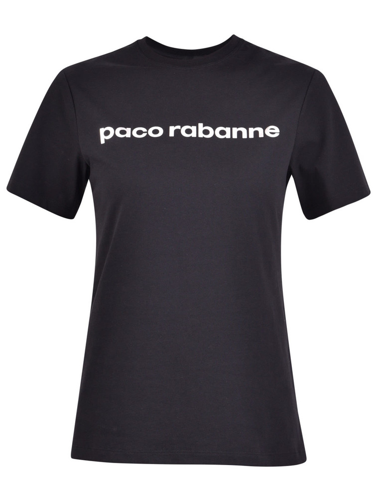 Paco Rabanne Branded T-shirt in black