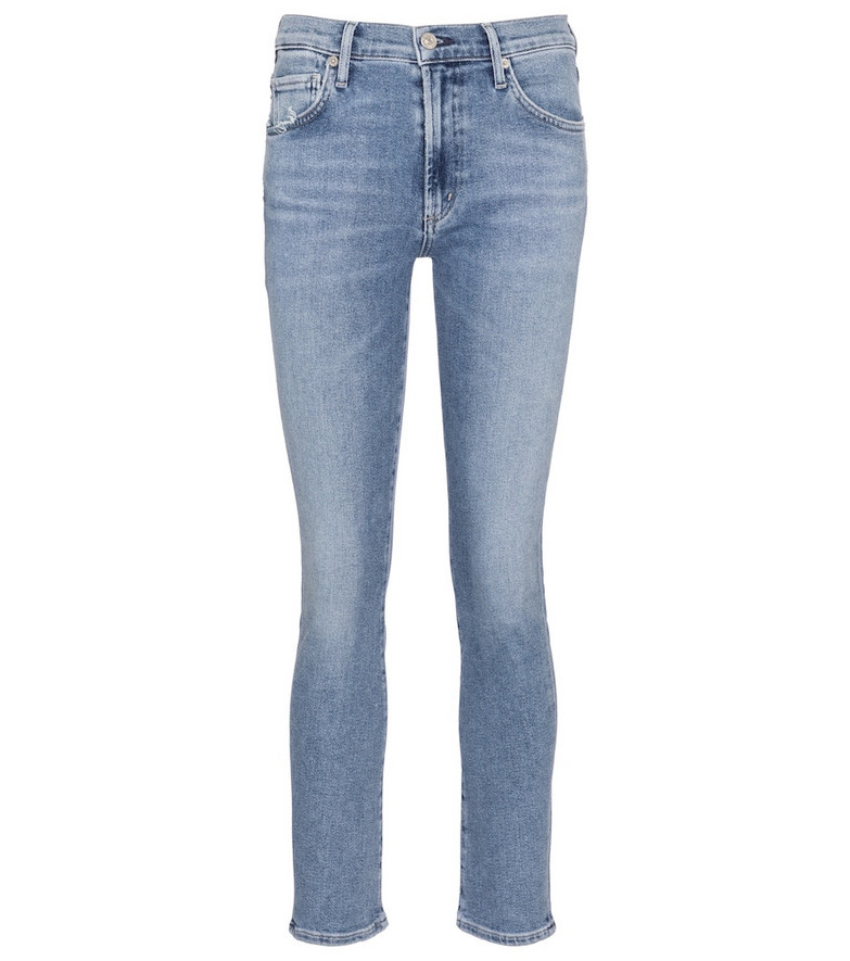Citizens of Humanity Skylar mid-rise slim jeans in blue