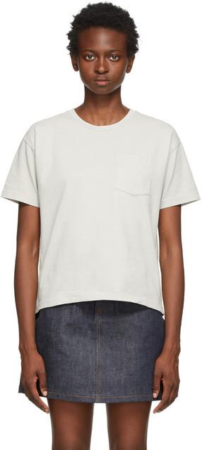 A.P.C. A.P.C. Grey Hope T-Shirt