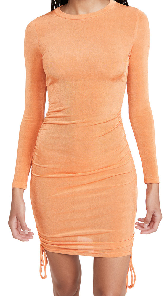 Lioness East Village Mini Dress in orange