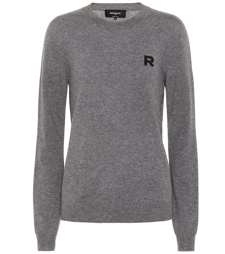 Rochas Cashmere sweater in grey