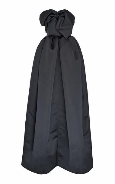 Rochas Quartetto Woven Dress in black