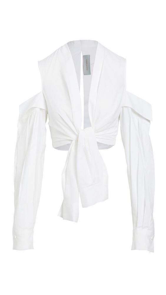 Silvia Tcherassi Matinata Blouse in white