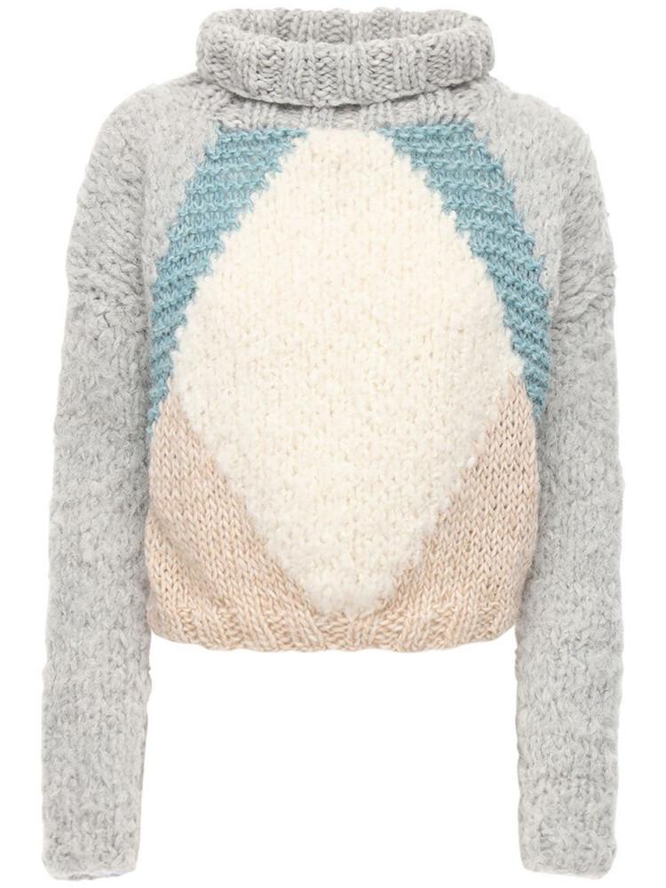 GUDRUN & GUDRUN Atlas Wool & Alpaca Sweater