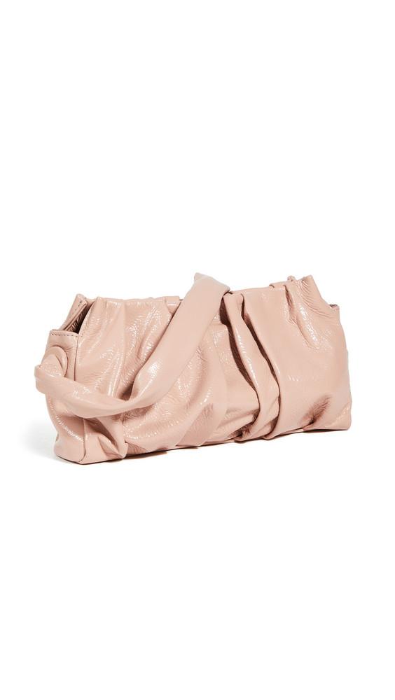 Elleme Vague Patent Lambskin Bag in pink