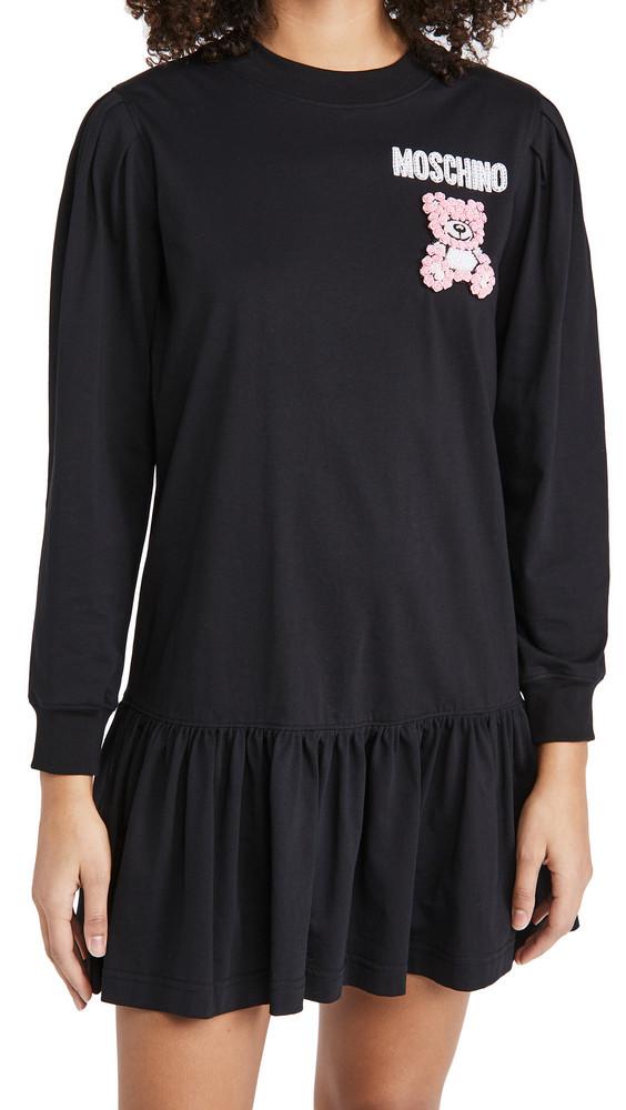 Moschino T-Shirt Dress in black / print