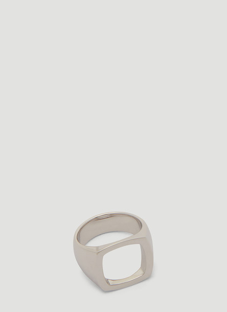 Tom Wood Cushion Open Ring in Silver size FR - 50