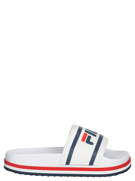 Fila Morro Bay Toe Post Sandals in white