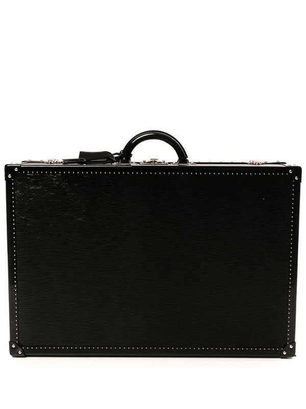 Louis Vuitton pre-owned Alzer 70 Trunk Hard Case Bag in black