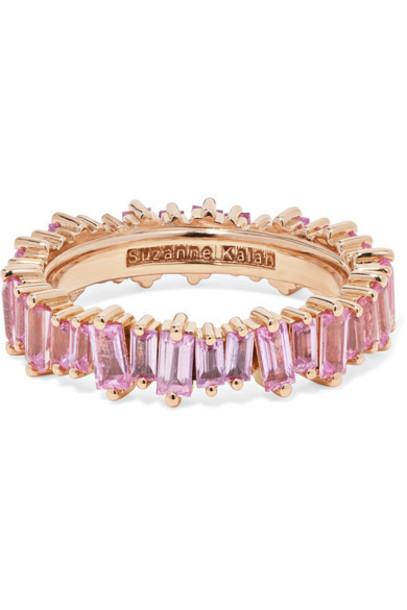Suzanne Kalan - 18-karat Rose Gold Sapphire Ring