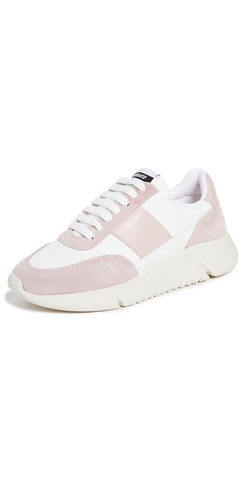 Axel Arigato Genesis Vintage Runner Sneakers in pink / white