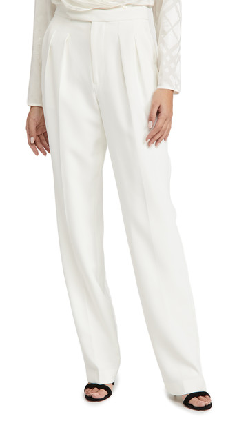 ANINE BING x Helena Christensen James Trousers in white