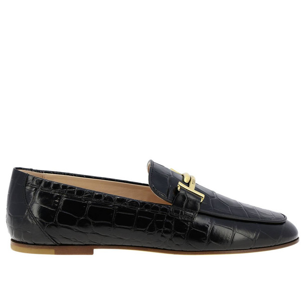Tods Loafers Shoes Women Tods in black