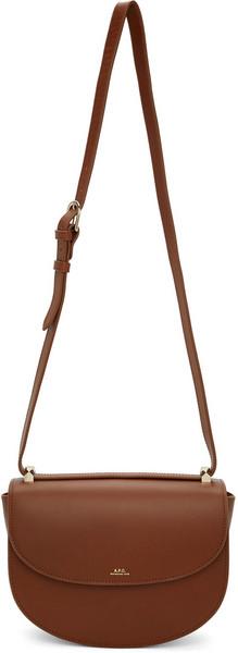 A.P.C. A.P.C. Brown Genève Bag