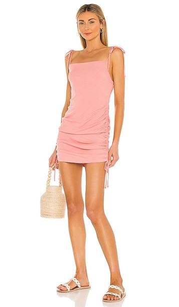 BB Dakota by Steve Madden Give Em a Cinch Dress in Blush