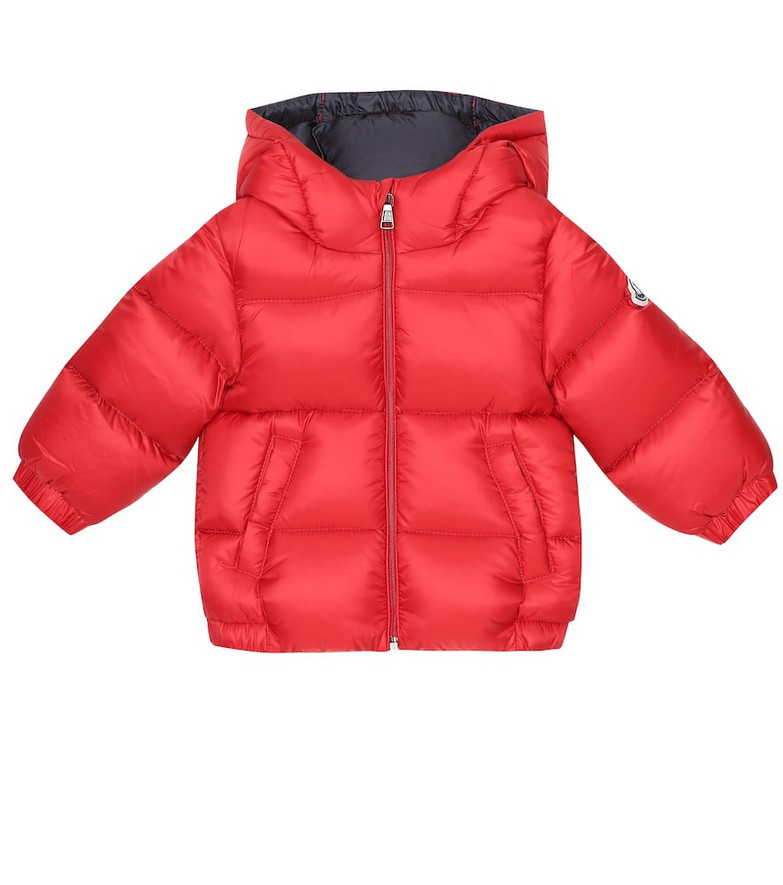Moncler Enfant Baby New Macaire down coat in red
